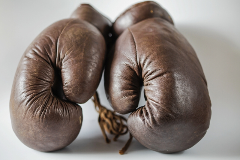 boxningshandskar i klassisk stil